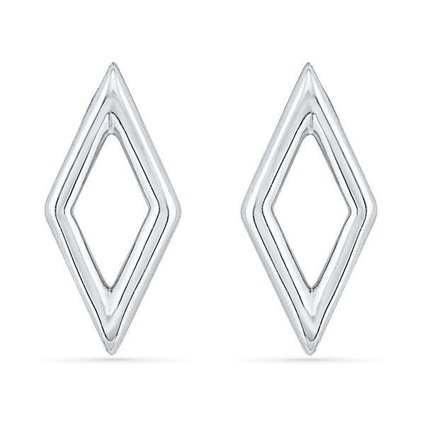 Geometric Shaped Gold Earring
