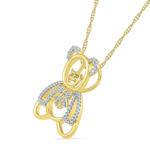 Childhood Memories Diamond Pendant