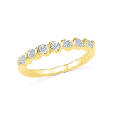 Sumptous Seven Miracle Diamond Ring