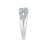 Beyond Infinity Diamond Band Ring - Radiant Bay