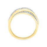 Golden Glam Everyday Diamond Ring