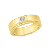 Classic Solitaire Diamond Ring for Men