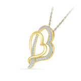 Best of Two Heart Pendant