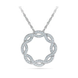 Abstract Diamond Pendant - Radiant Bay