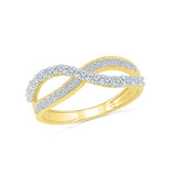 The Classic Twist Everyday Diamond Ring