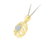 Superfect Floral Diamond Pendant