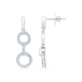Contemporary Charm Diamond Danglers