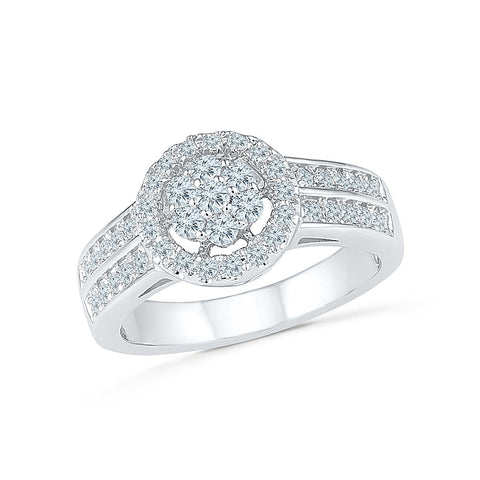 Eternal Evening Diamond Cocktail Ring
