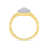 Pear Flair Diamond Cocktail Ring
