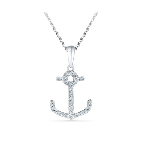 The Little Man's Anchor Pendant for kids in gold online