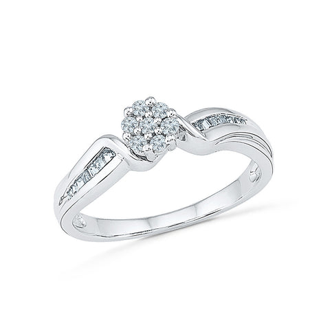 Brilliant Bond Diamond Ring - Radiant Bay