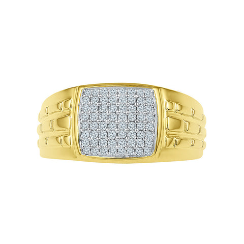 Diamond Delight Engagement Ring for Men