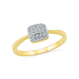 Square Stunner Everyday Diamond Ring
