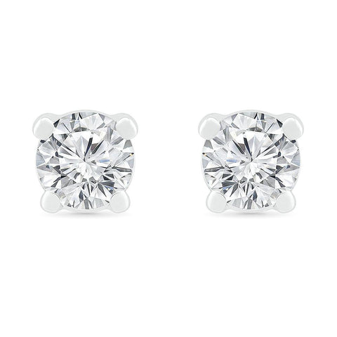 Blissful Solitaire Earrings