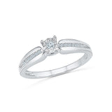 Beloved Betrothal Diamond Engagement Ring - Radiant Bay