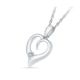 You Complete Me Diamond Pendant
