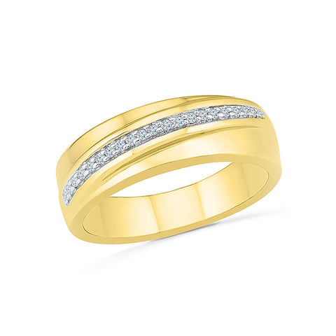 Modish Everyday Diamond Ring For Men