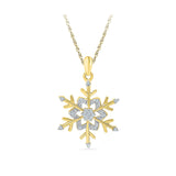 Fresh Flower Diamond Pendant in 14k and 18k Gold online for women