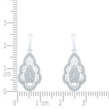 Princess Pride Diamond Drop Earrings