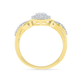 Royally Glam Diamond Engagement Ring