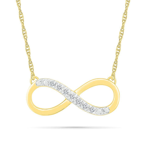 Dashing Infinity Necklace