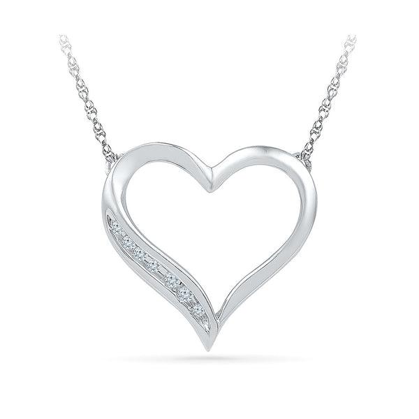 Grand Heart Diamond Necklace