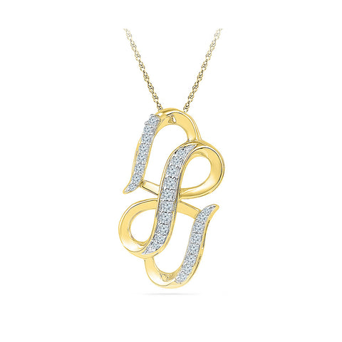 Infinite Love Pendant in 14k and 18k Gold online for women