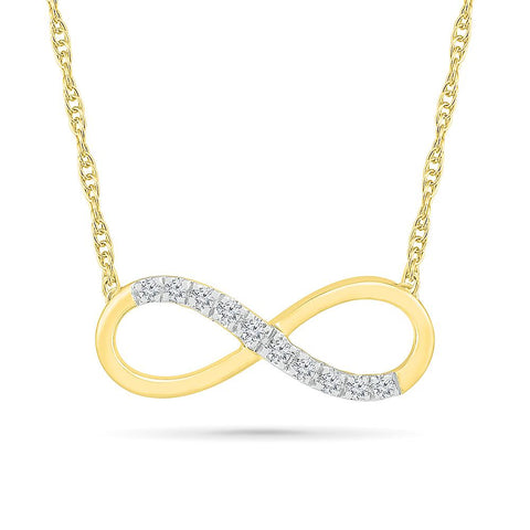 Language of Love Infinity Necklace