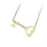 The Love Key Diamond Necklace
