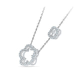 Clover Expressions Diamond Necklace