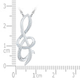 The Musical Note Diamond Pendant