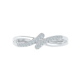 Diamond Enhancer Midi Silver Ring