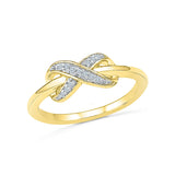 Classic Infinity Everyday Diamond Ring