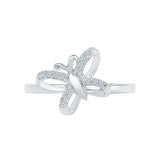 Fly High Diamond Midi Ring