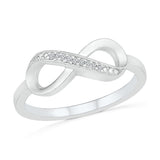 Undying Love Infinity Ring