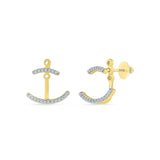 Trendy Diamond Ear Jackets