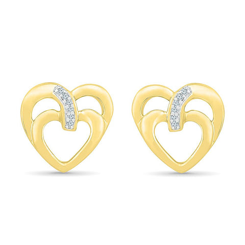 Love Affection Heart Earrings