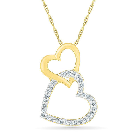 Love Links Heart Pendant