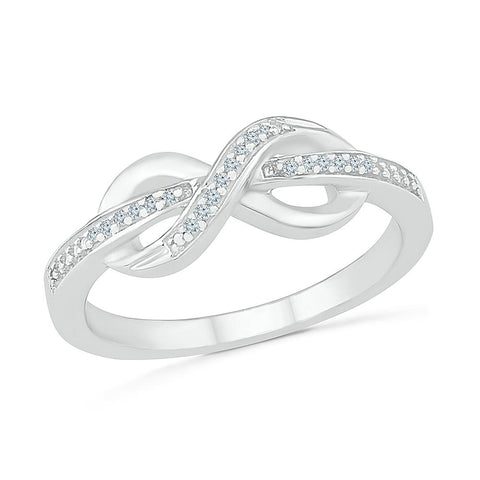 Ever and Ever Infinity Ring