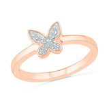 Delicate Butterfly Ring