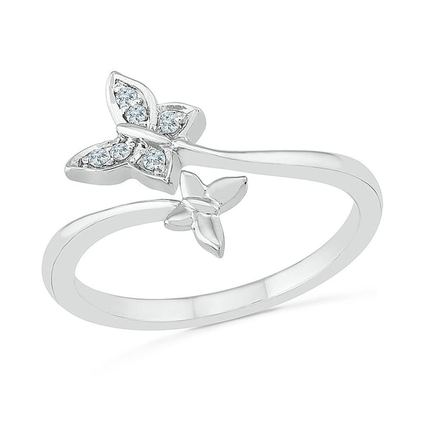 Charismatic Butterfly Ring