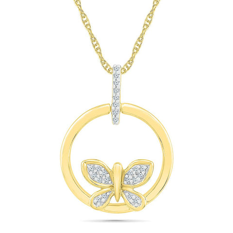 Flirty Butterfly Pendant