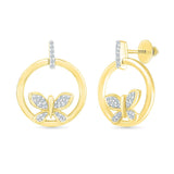 Exhilarating Butterfly Dangle Earrings