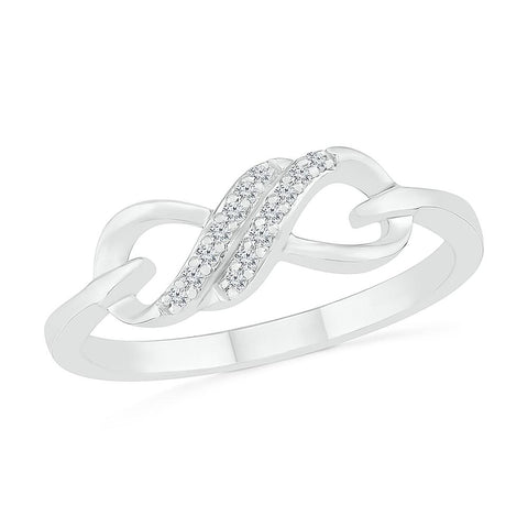 Everlasting Love Infinity Ring
