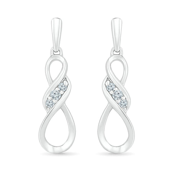 Exceptional Danglin Infinity Earring