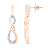 Adorable Dangling Infinity Earring