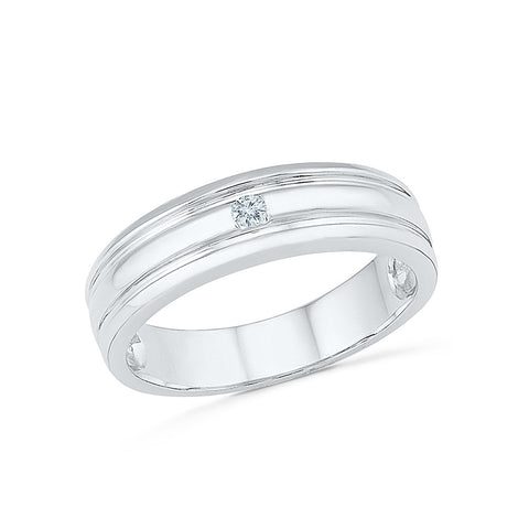 Capricious Diamond Band for Men - Radiant Bay