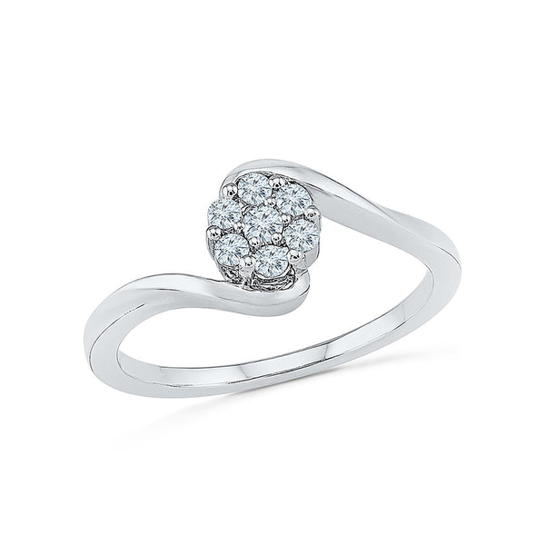 Wow Vow Diamond Engagement Ring