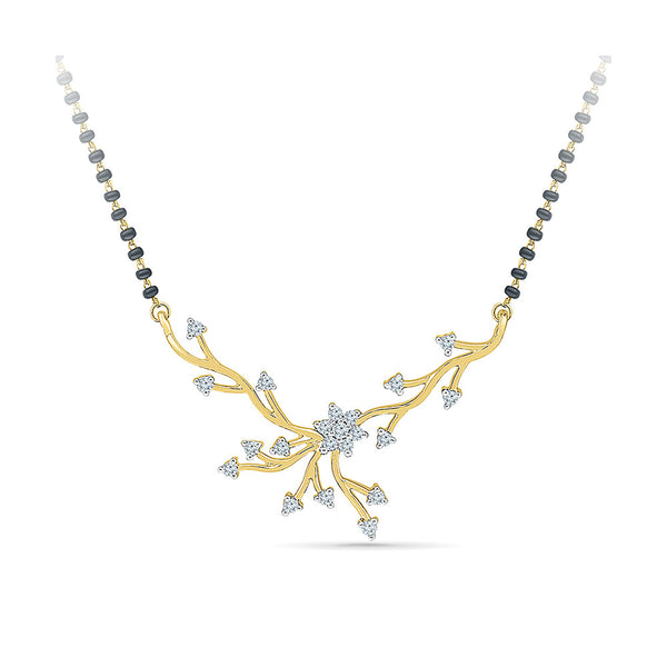 Scattered Diamond Mangalsutra