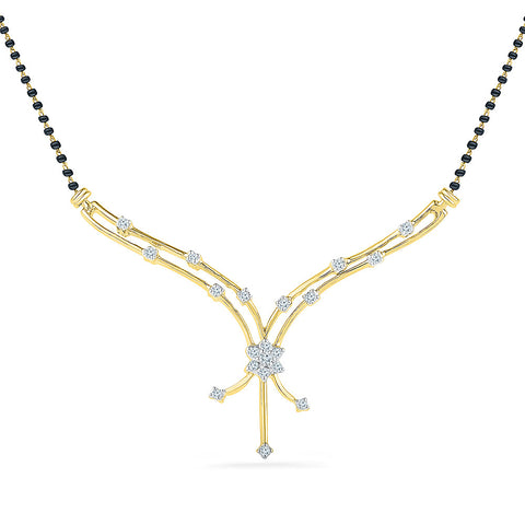 Alluring Diamond Mangalsutra - Radiant Bay